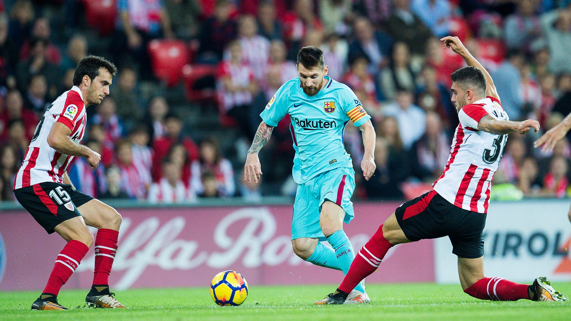 Lionel Messi Barcelona Bilbao
