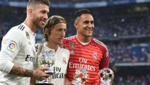 Sergio Ramos Modric Navas Real Madrid Leganes 02 09 2018