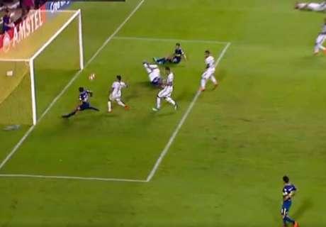 VIDEO: ¡De no creer! Wanchope se perdió el empate de Boca