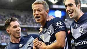 Storm Roux Keisuke Honda Melbourne Victory