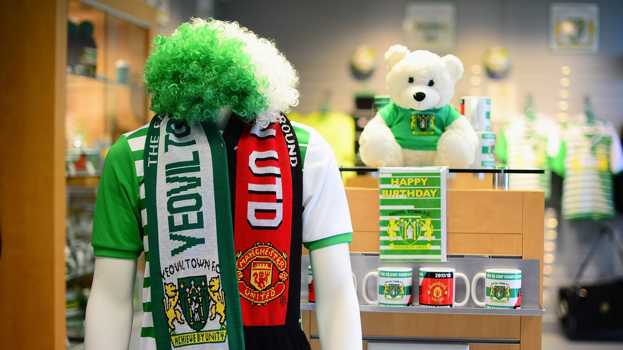 Yeovil Town FC Manchester United