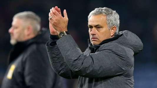 Jose Mourinho, Burnley v Man Utd, 2017/18