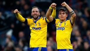 Gonzalo Higuain Paulo Dybala Tottenham Juventus