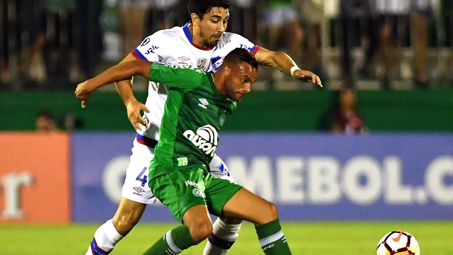 Guilherme Jorge Fucile Chapecoense Nacional Montevideo Copa Libertadores 31012018