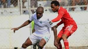 Joash Onyango of Gor Mahia v Nyasa Big Bullets FC.