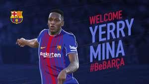 Yerry Mina Barcelona