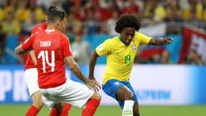 Willian Zuber Brazil Switzerland World Cup 17062018