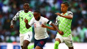 Raheem Sterling Tyronne Ebuehi Kenneth Omeruo England Nigeria international friendly 2018