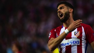 Yannick Carrasco Atletioc Madrid Leicester City UCL 12042017
