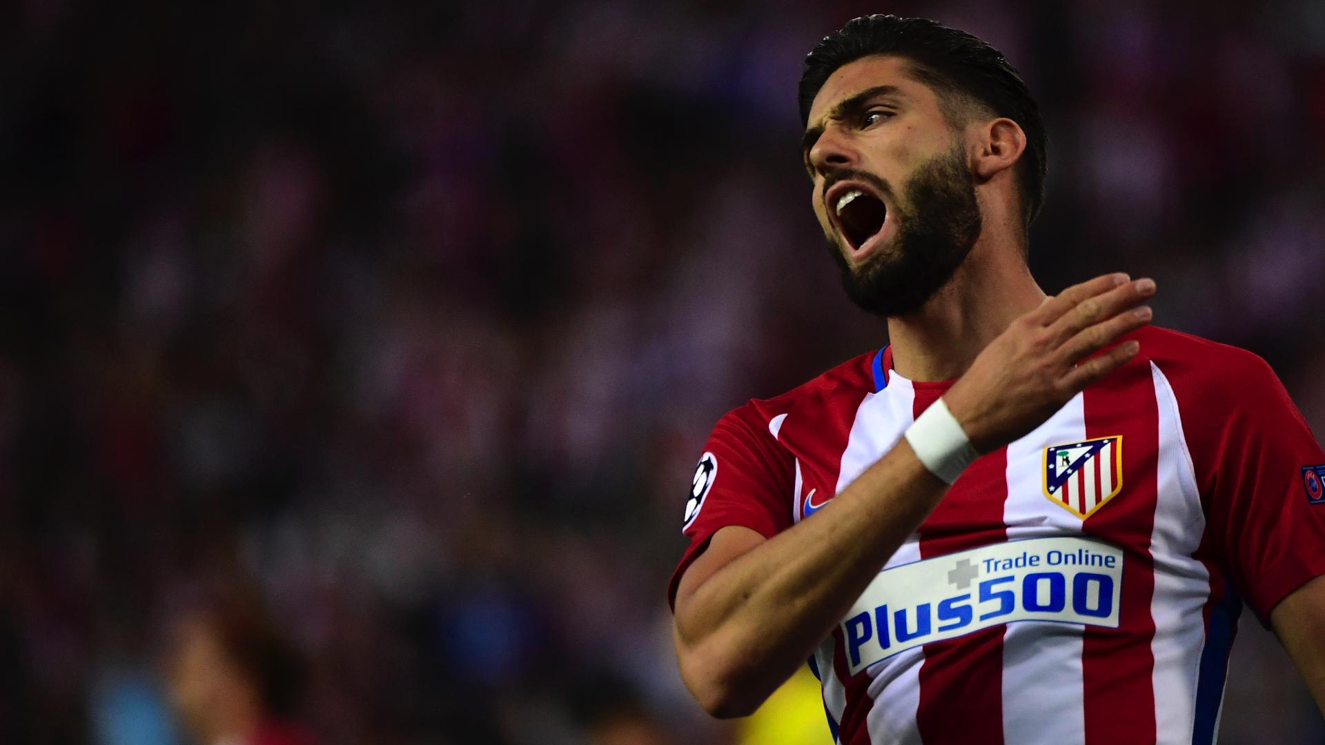 Yannick Carrasco Atletioc Madrid Leicester City UCL 12042017