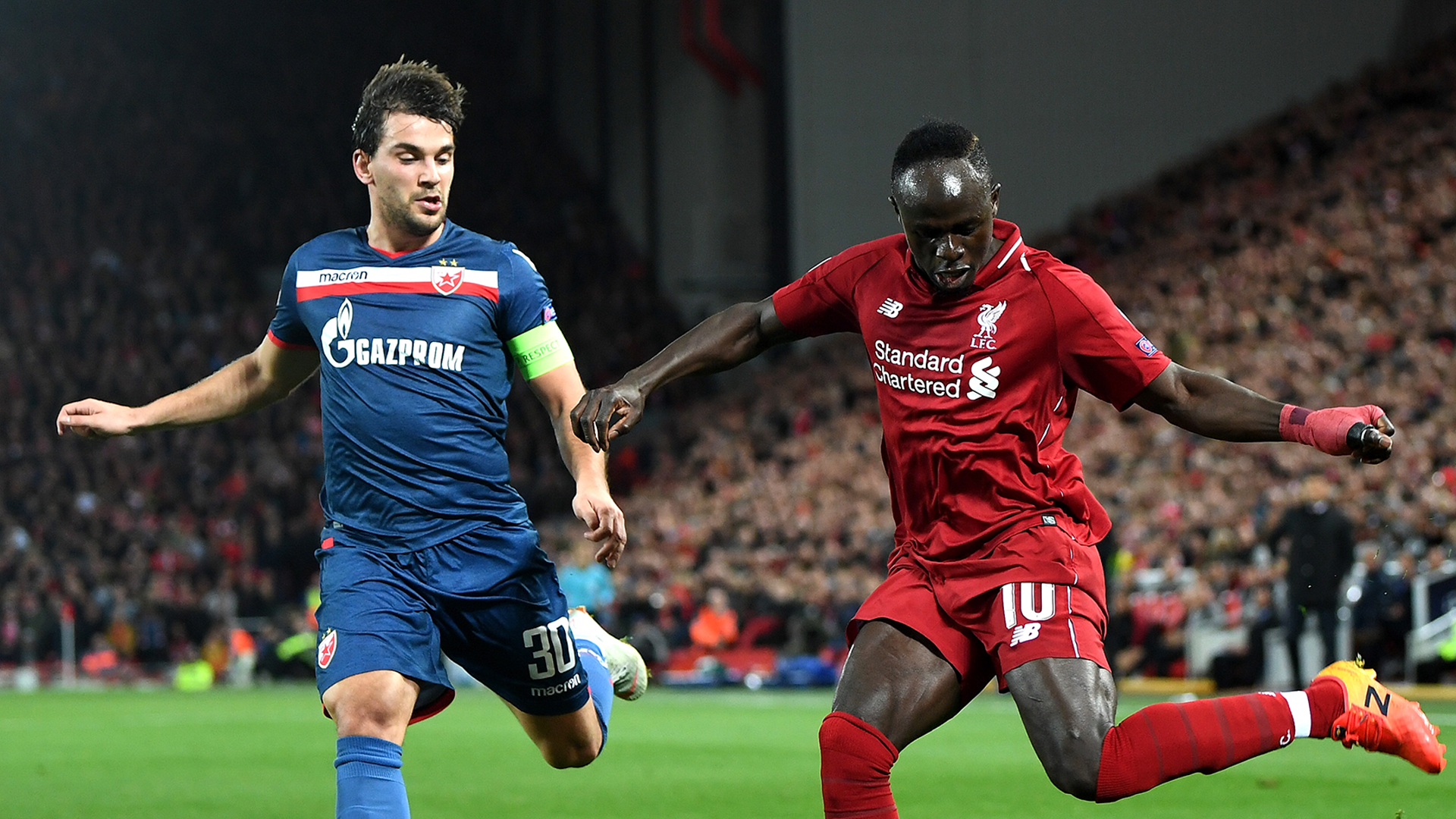 Liverpool Red Star 2018-19 Champions League Sadio Mane