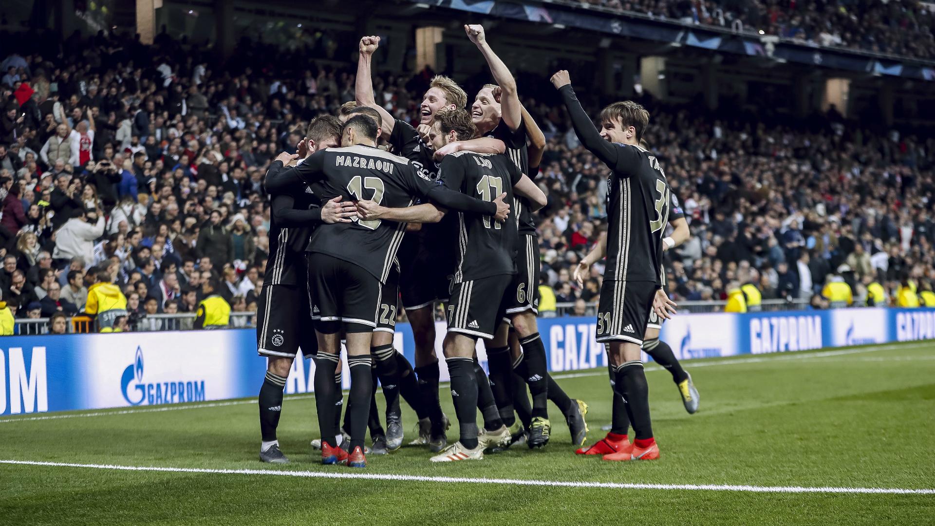 Real Madrid - Ajax Champions League 03052019