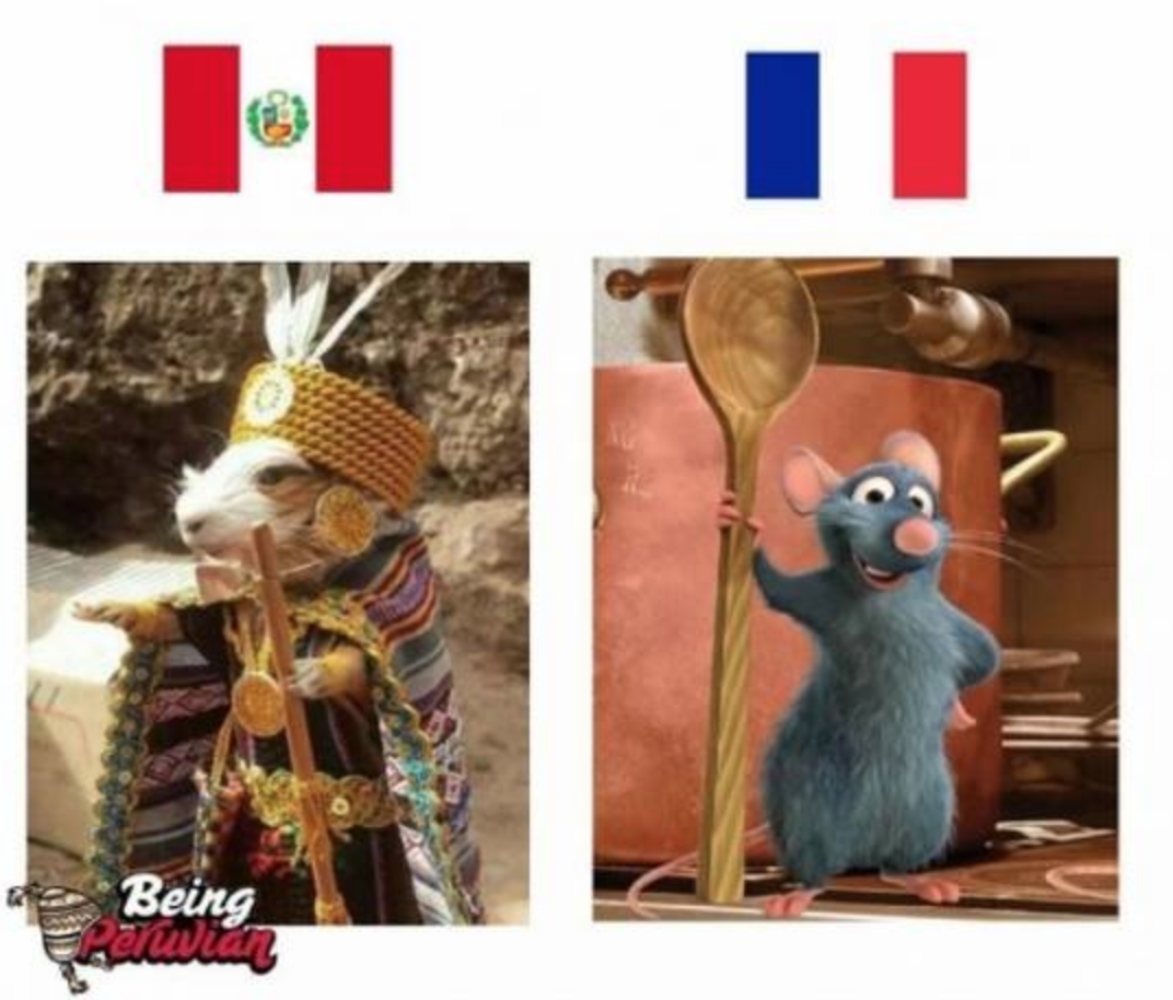 Memes Perú vs Francia