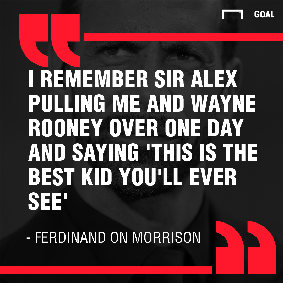 Rio Ferdinand on Ravel Morrison Manchester United