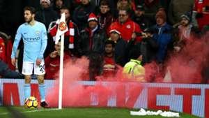 Bernardo Silva, Manchester United vs Manchester City, 17/18