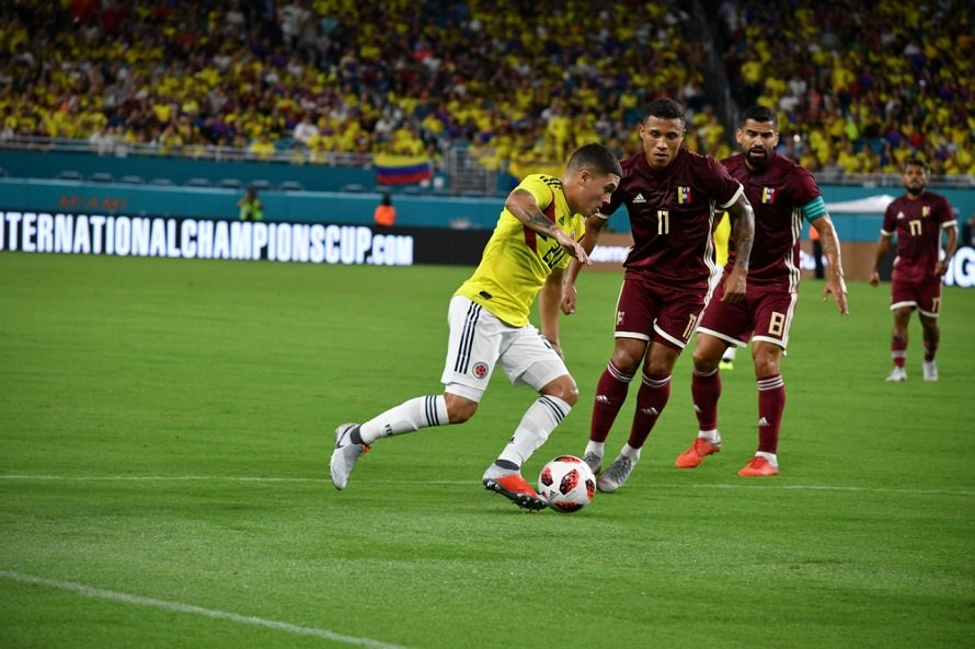 Juanfer Quintero Colombia - Venezuela Amistoso 2018