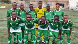 Kenya U-15 in Spain.