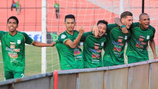 Selebrasi PSMS Medan Frets Butuan Abdul Aziz, Shohei Matsunaga Tanidis
