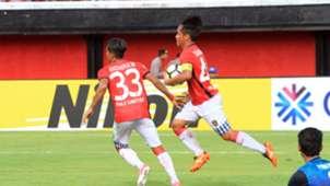 Selebrasi I Gede Sukadana - Bali United & Yangon United