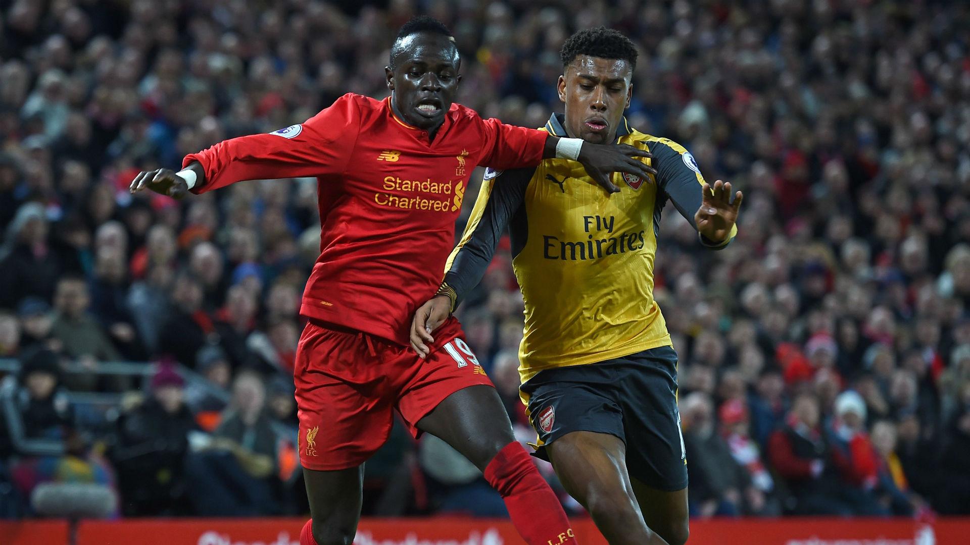 Sadio Mane and Alex Iwobi