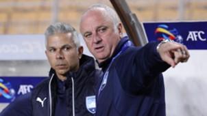 Graham Arnold Steve Corica Sydney FC