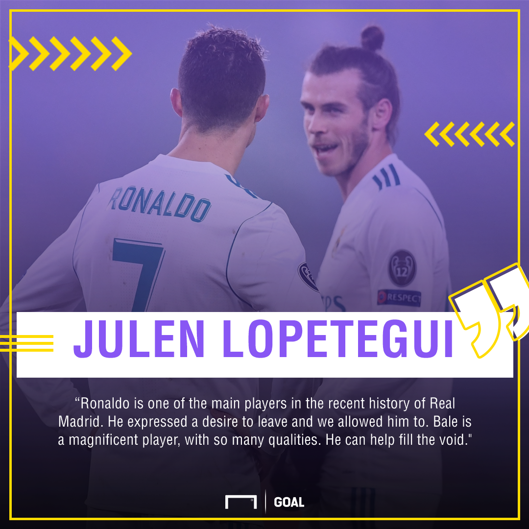 Lopetegui Ronaldo Bale PS