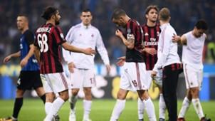 Ricardo Rodriguez Leonardo Bonucci Inter Milan Serie A 10152017