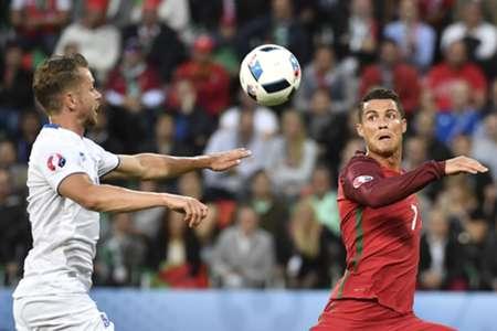 Kari Arnason, Iceland Cristiano Ronaldo, Portugal