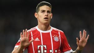 James Rodriguez Real Madrid Bayern Munich UCL 01052018