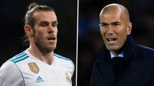 Gareth Bale Zinedine Zidane