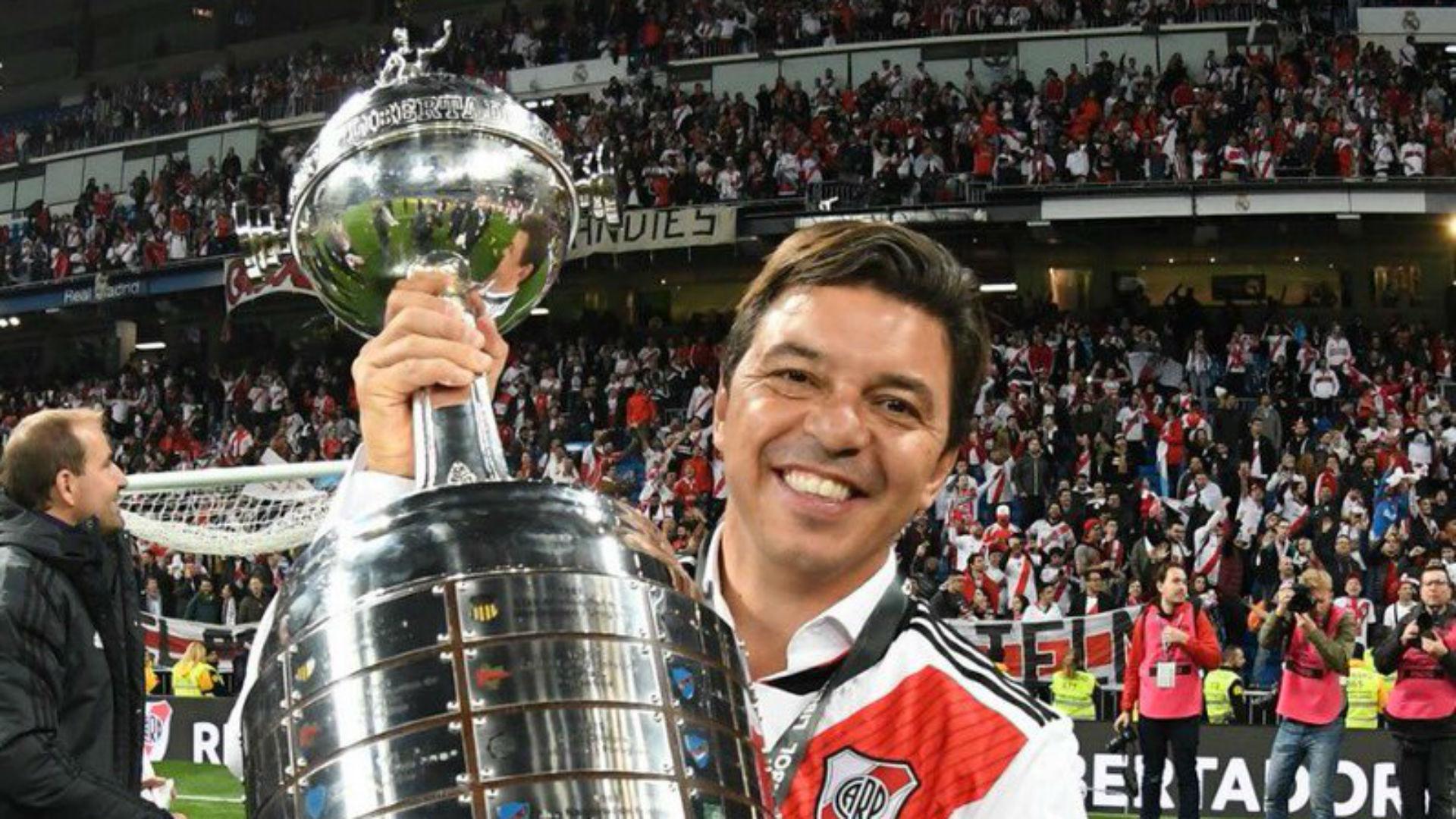 Marcelo Gallardo River Boca Copa Libertadores Madrid 091218