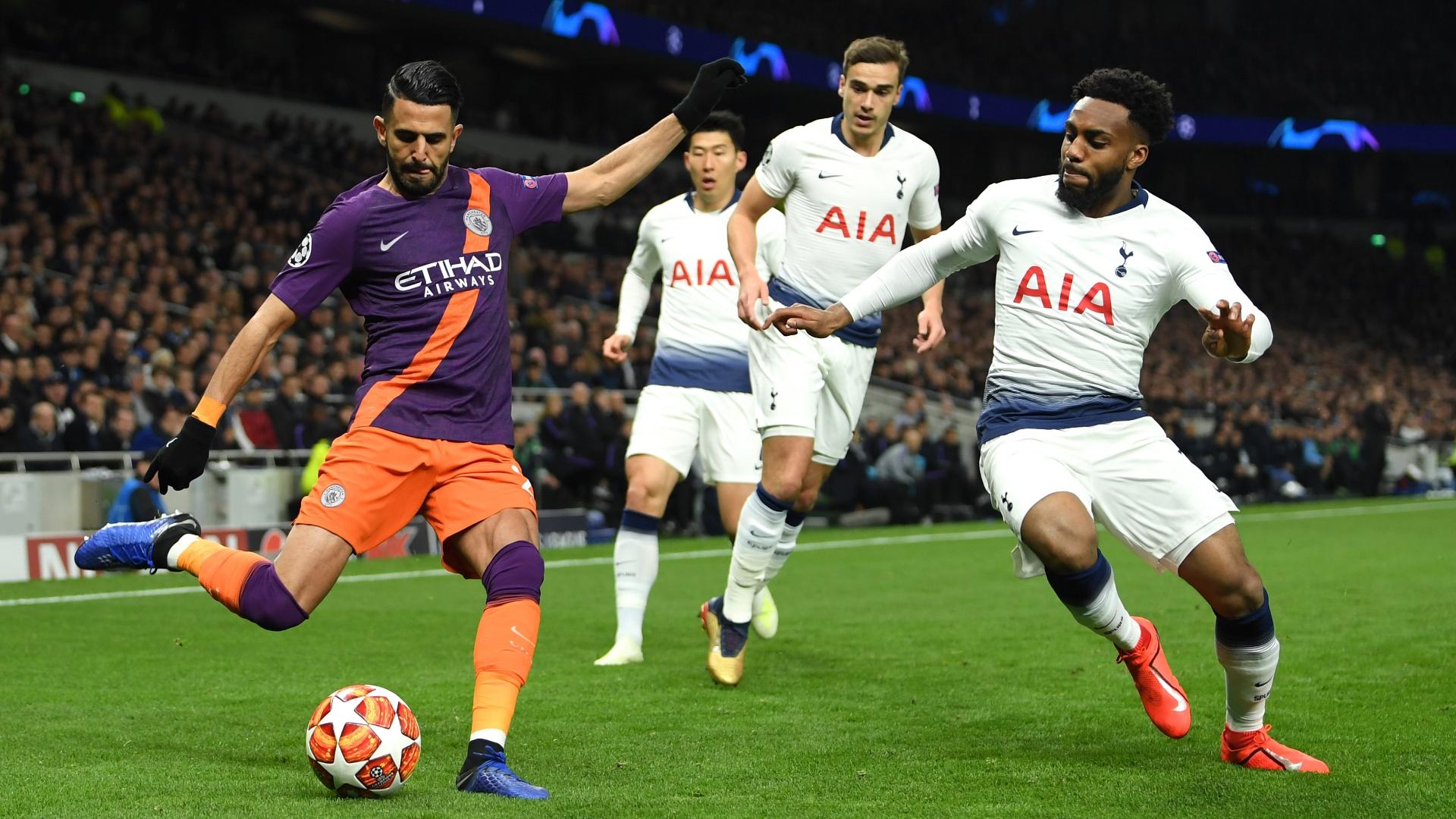 Riyad Mahrez, Tottenham vs Man City, UCL 2018-19
