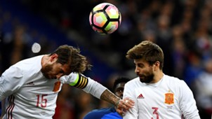 Sergio Ramos Pique España 25042017