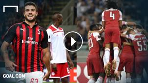 Milan Arsenal Europa League