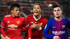 Alexis Sanchez, Virgil van Dijk, Coutinho
