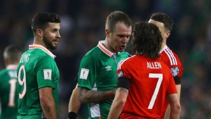Shane Long Glenn Whelan Joe Allen Republic of Ireland Wales 24032017