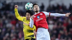 Shinji Kagawa Dortmund Mainz