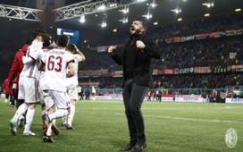 Gennaro Gattuso Milan trainer