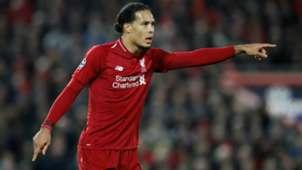 Virgil van Dijk Liverpool 12112018