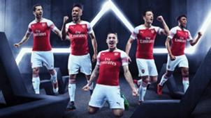 Arsenal New Home Kit 2018/19