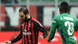 Higuain Fernandes Milan Fiorentina