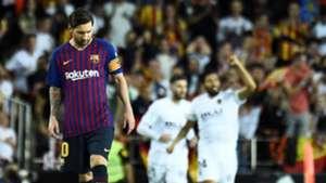 Lionel Messi Valencia Barcelona LaLiga 07102018
