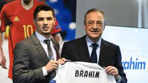 Brahim Diaz Real Madrid 2018-19