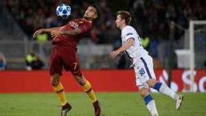 Lorenzo Pellegrini Roma CSKA Moscow