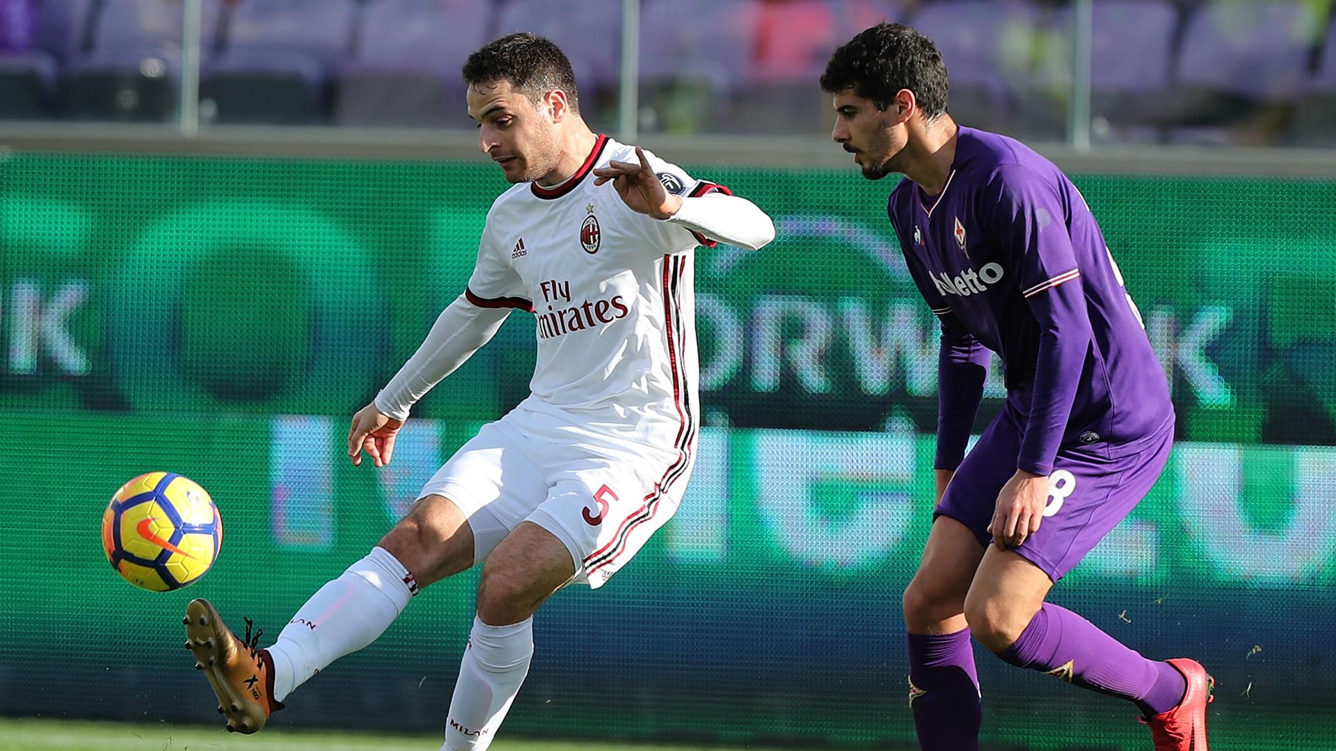 Giacomo Bonaventura Gil Dias Fiorentina Milan Serie A