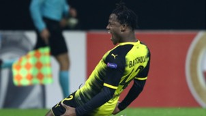 Michy Batshuayi Borussia Dortmund Atalanta Bergamo Europa League 15022018