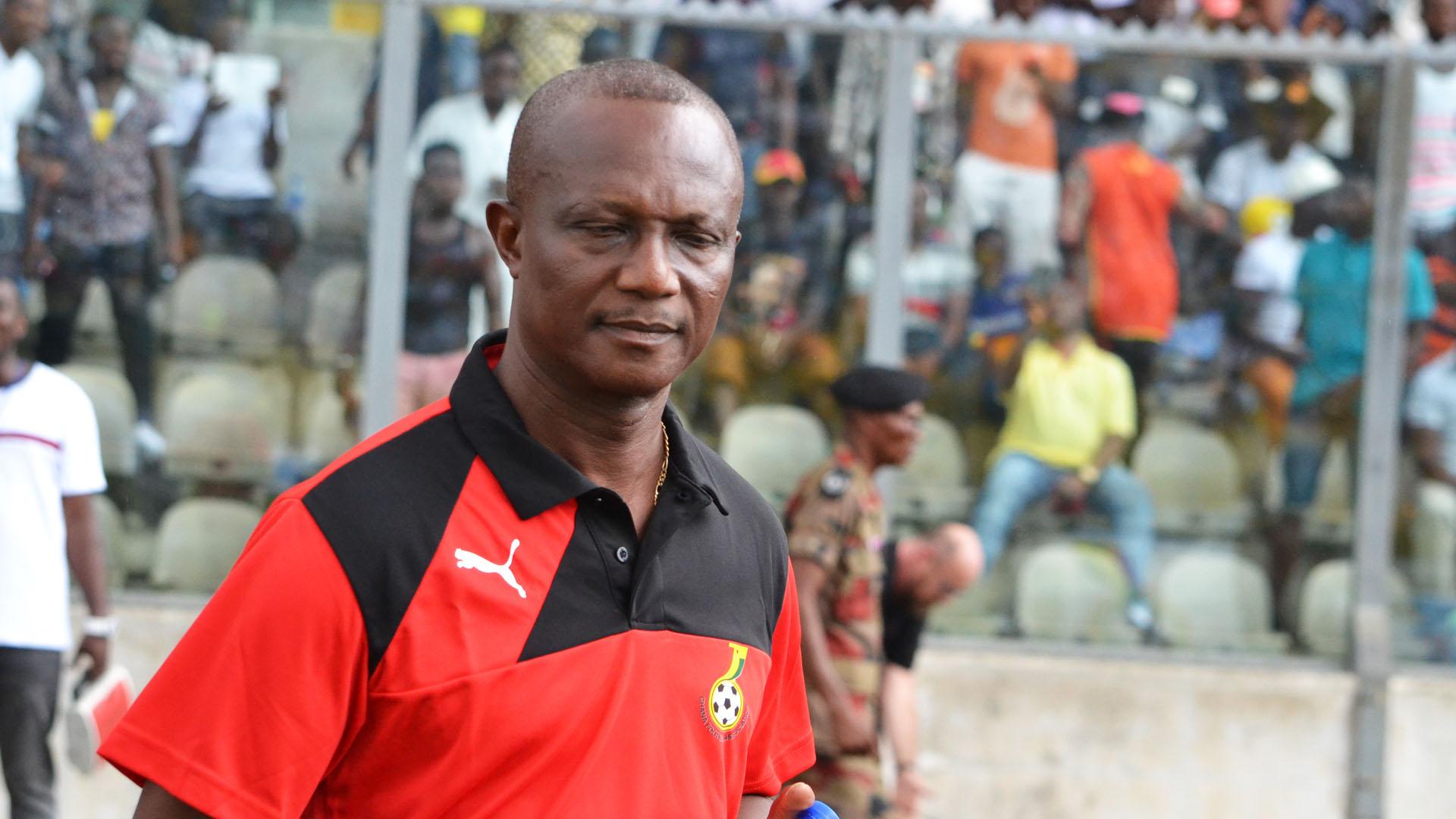 Coach Kwesi Appiah