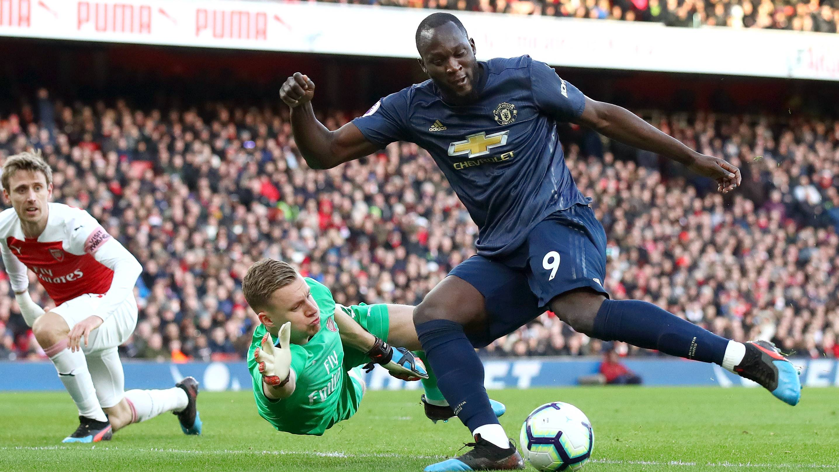 Romeu Lukaku Manchester United Premier League