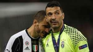 Leonardo Bonucci Gianluigi Buffon Juventus