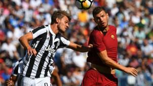 Edin Dzeko Daniele Rugani Juventus Roma ICC